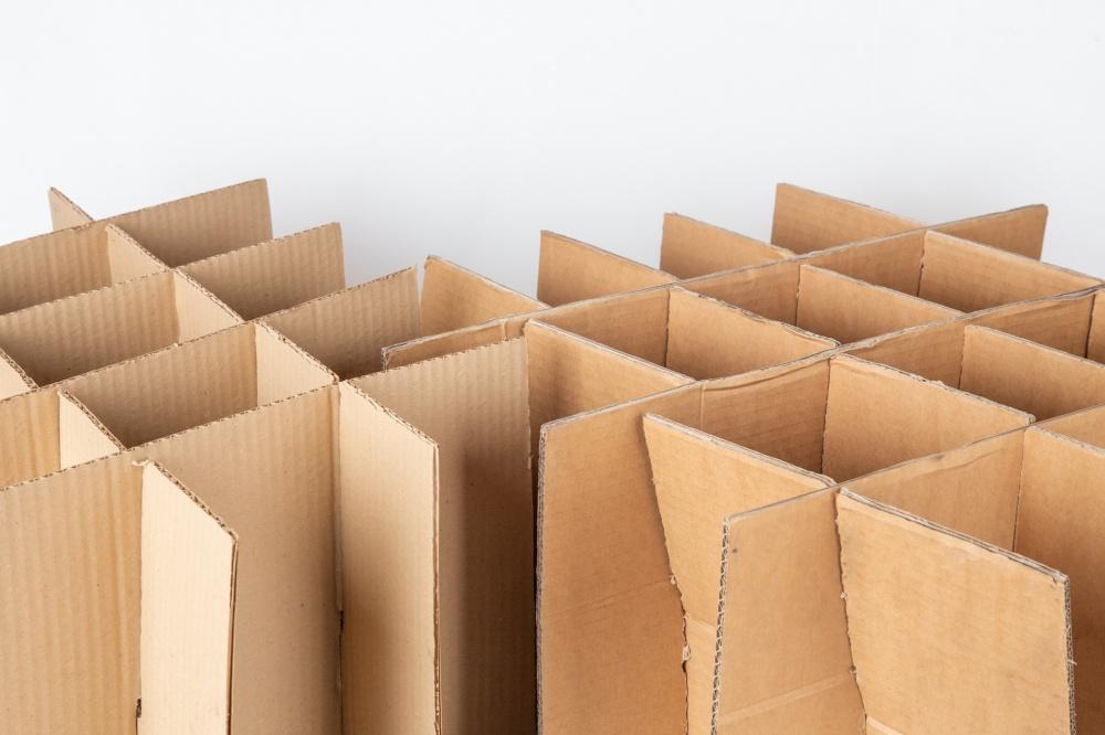 divisori per scatole in cartone