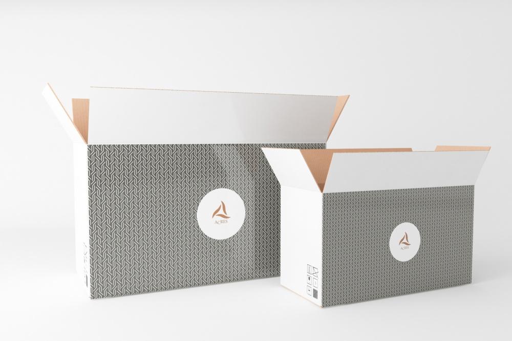 scatole americane patinate