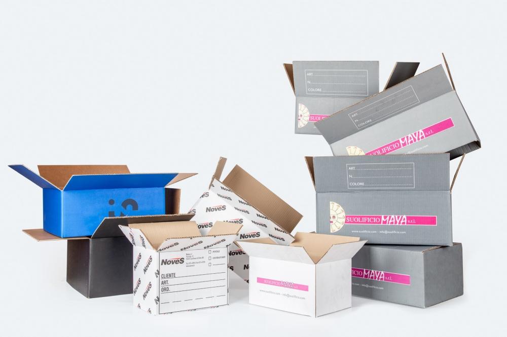 scatole americane più colori