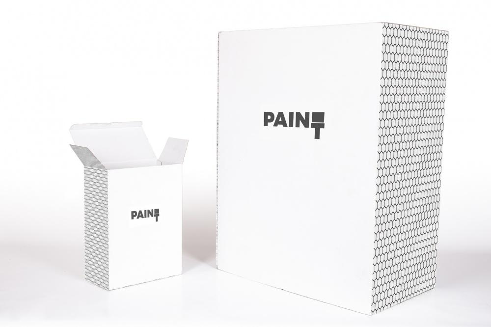 scatole fustellate cartone bianco patinato stampa personalizzata